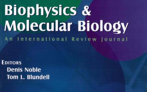 Progress in Biophysics & Molecular Biology